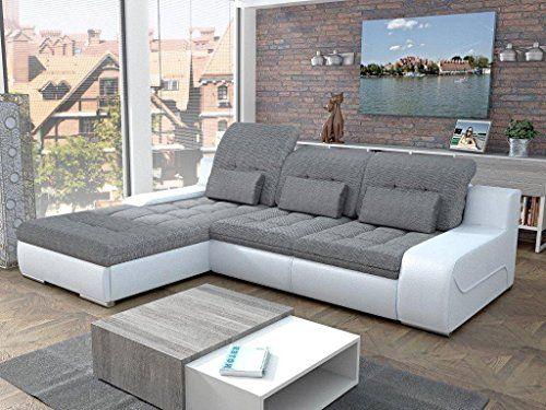 European Sleeper Sectional Sofa Giorgio With Storage Modern Design