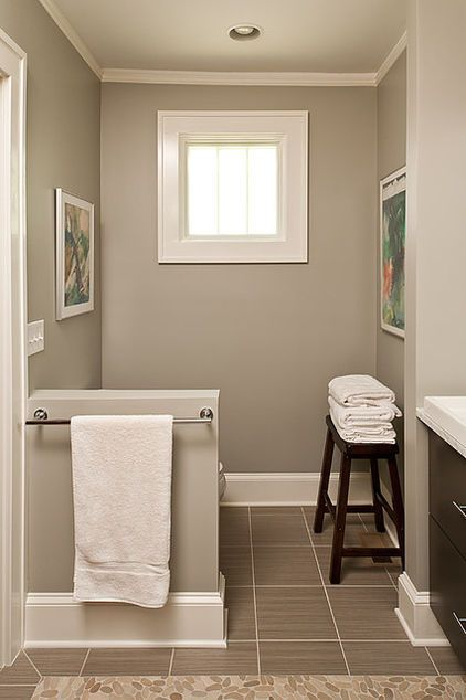 Paint Color For Downstairs Bathroom Interior Window Trim