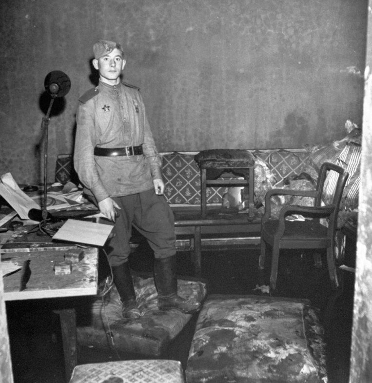 Berlin, 1945   After the Fall: Photos of Hitler's Bunker and the Ruins of Berlin   LIFE.com