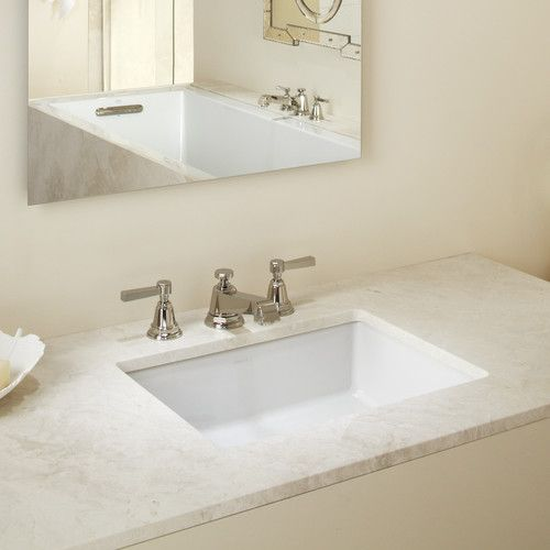 Found It At Allmodern Verticyl Rectangular Undermount Bathroom Sink With Overflow