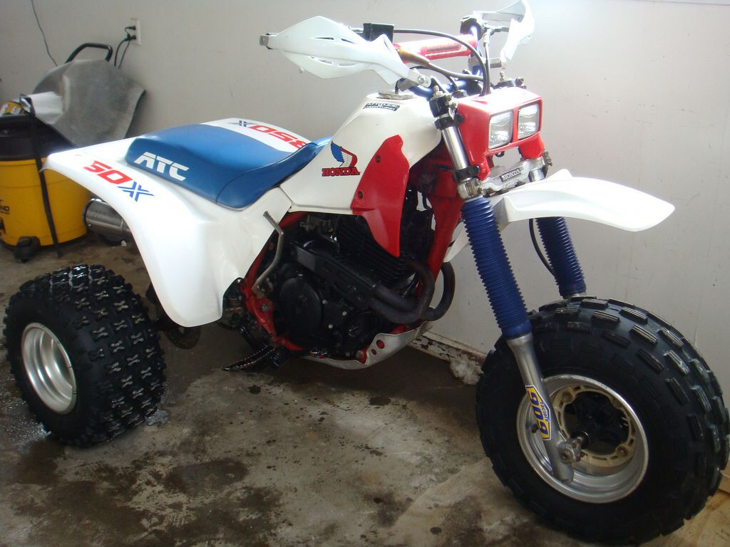 86 Honda Atc 350x Honda Trike Atv Motocross Honda