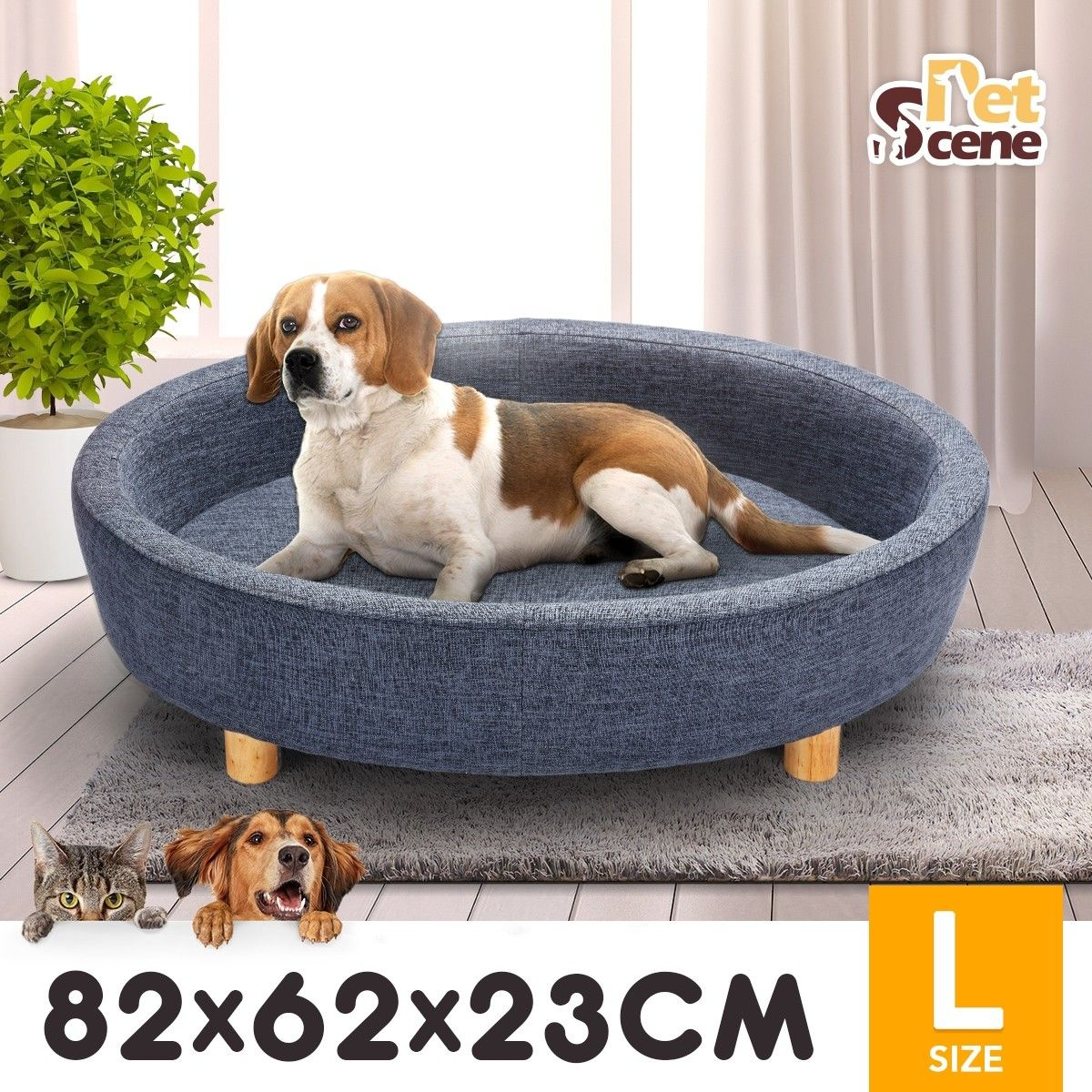 Petsure 35 43 49 Inches Outdoor Elevated Dog Bed Cooling Raised Dog Cot For Extra Large Medium Small Dogs Portable Raised Dog Beds Dog Cots Elevated Dog Bed