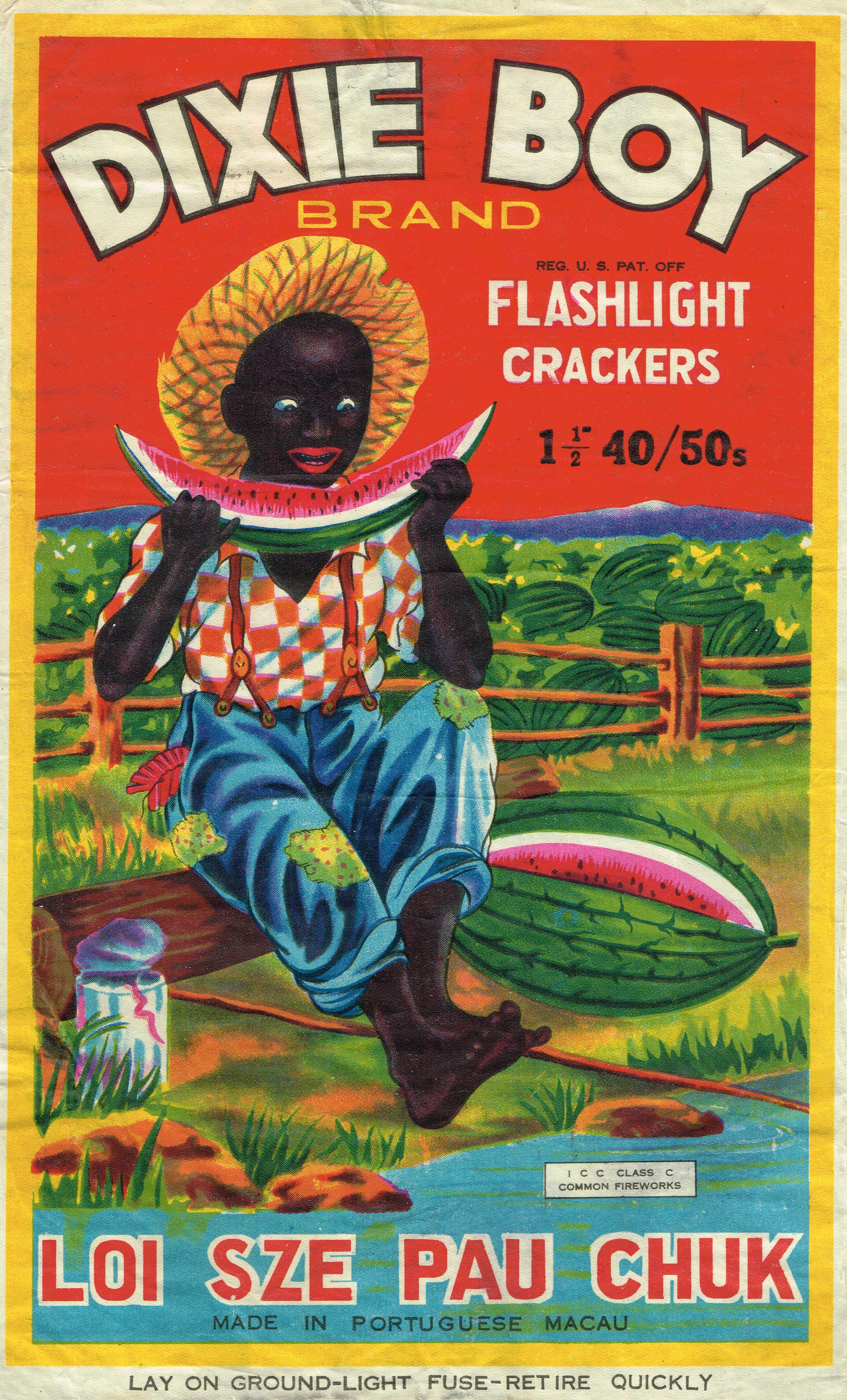 firecracker brick labels vintage fireworks color dixie boy   Nice ...  Vintage Packaging,