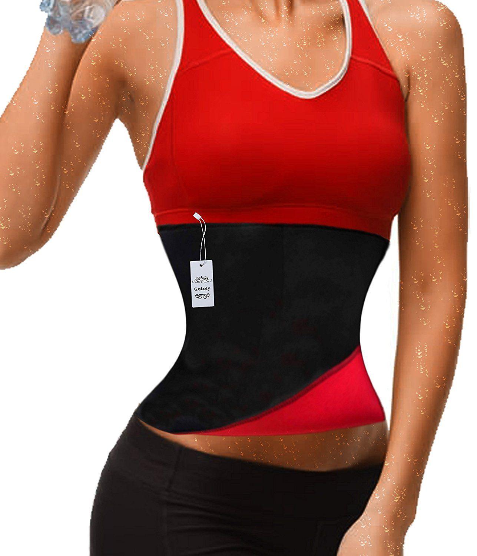 Clip zip waist trainer perfect floral design waist training cinchers - Gotoly Hot Thermo Sweat Neoprene Slimming Shapers Belt Waist Cincher Trainer Insider S Special