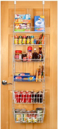 Securely Hangs Over The Door Or Can Be Mounted To A Wall Hooks And S Included Includes 5 Adjule Shelves Separately Heavy Duty