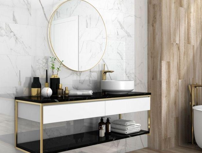 ▷ 1001 + modèles fantastiques de la salle de bain design Gold