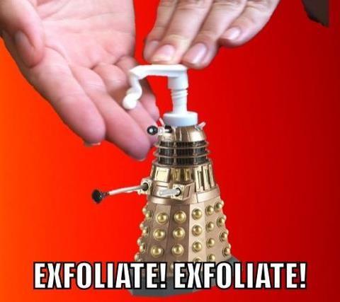 Exfoliate!