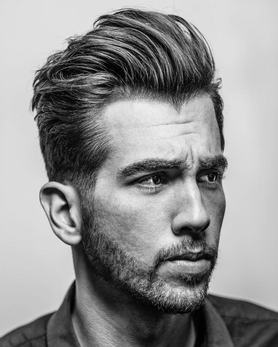 Mens Hairstyle Medium Length: Cool Men's Medium Length Haircuts 2018