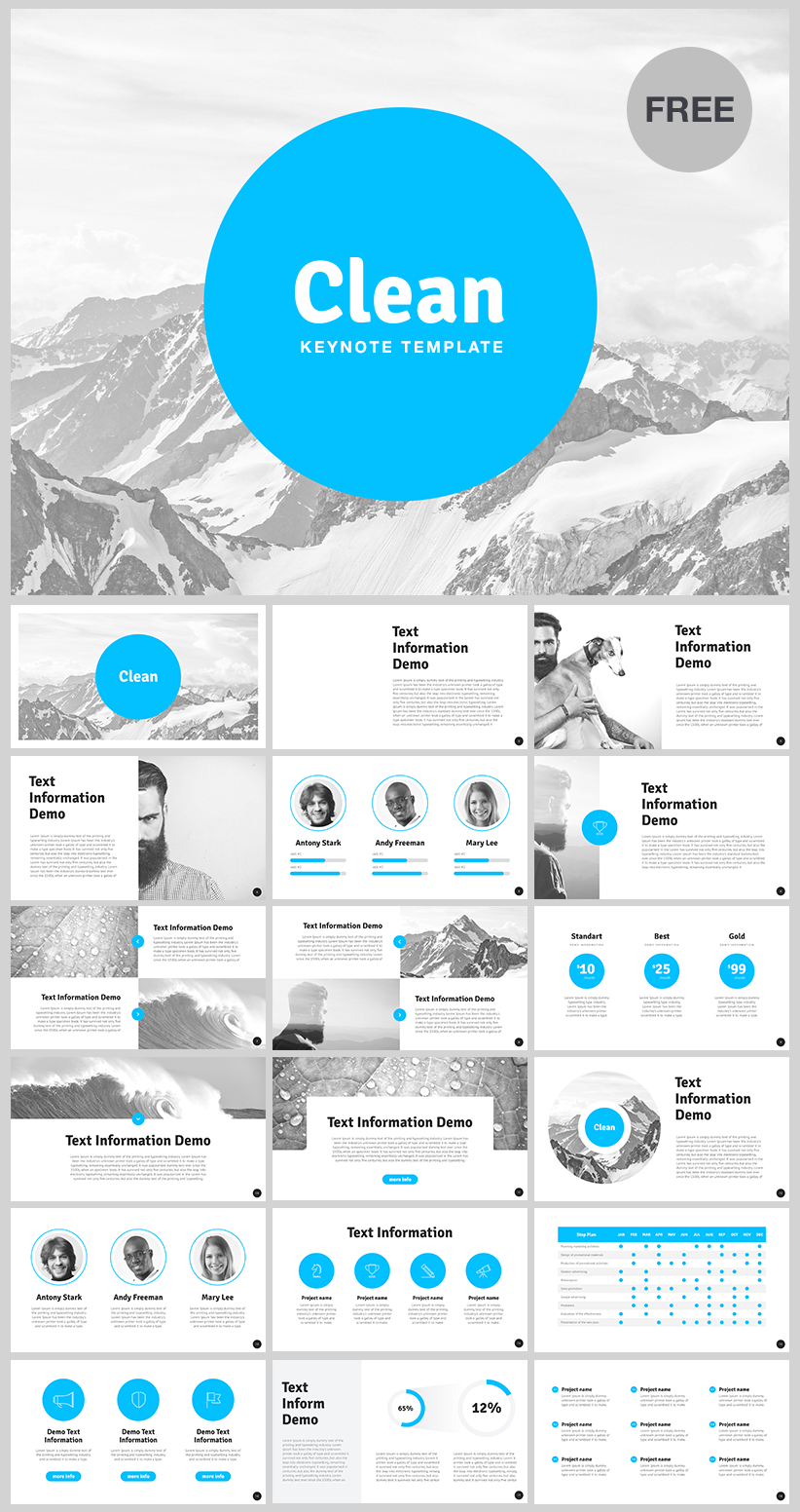 Pin de HiSlide.io en FREE KeyNote Template | Pinterest