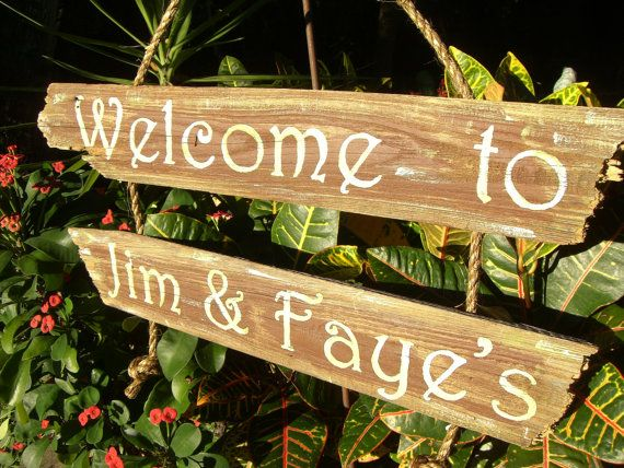 Welcome+Sign+Made+to+order+Stenciled/Hand+by+JuliesWorkshop,+$30.00