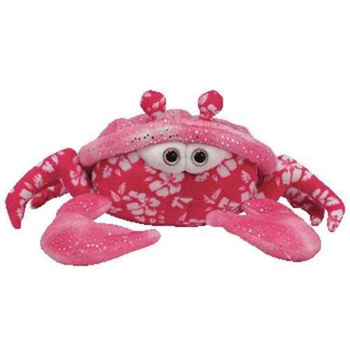 TY Beanie Baby - SUNBURST the Pink Crab (8 inch)  712891a11aa