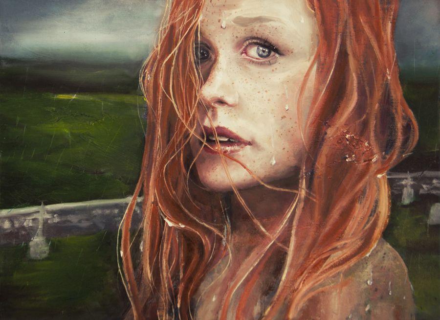 in un giorno di pioggia by agnes-cecile.deviantart.com on @deviantART