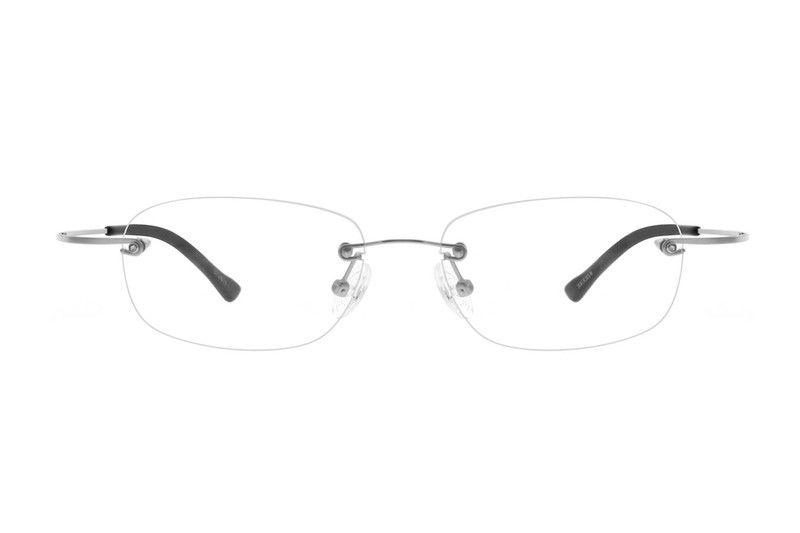 Rimless titanium eyeglass frames model #372811 • Zenni | Eyeglasses ...