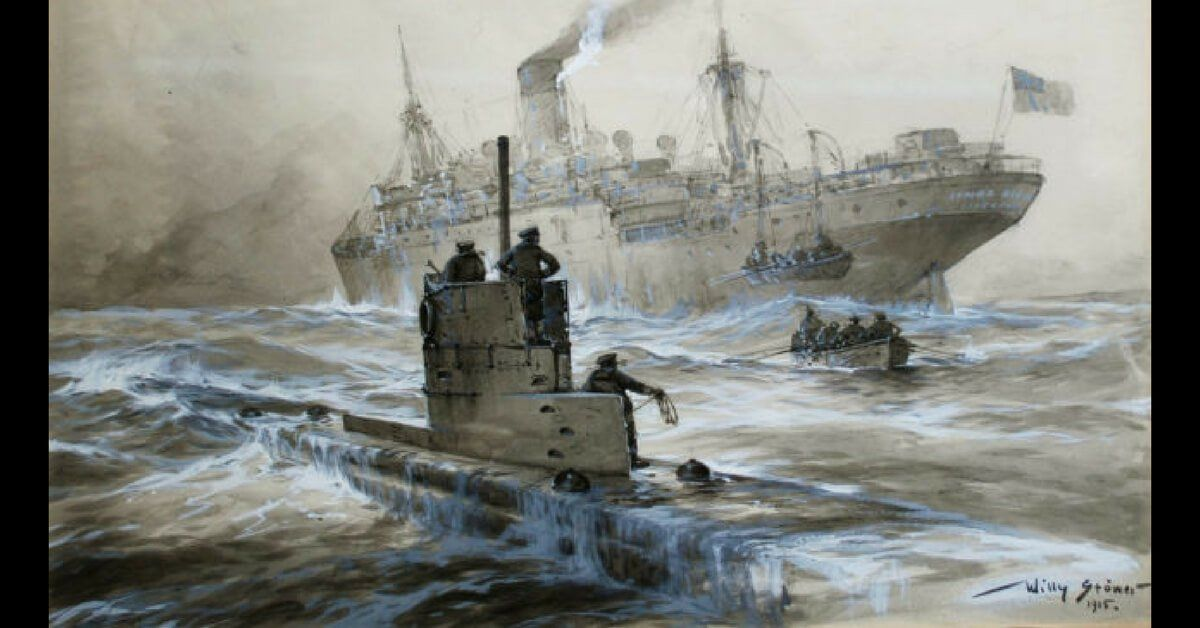 The Dawn Of The Submarine U 21 Sinks Hms Pathfinder Boat World