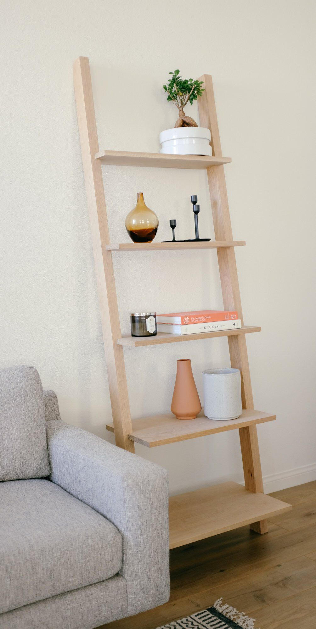 Modern Bookcase Leaning Bookcase Ladder Shelf Mid Century Bookshelf Ladder Shelves Bathroom Shelves Bathroom Ladder Shelf Leaning Bookcase Modern Bookcase Bookshelves Diy