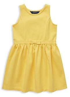 Ralph Lauren Baby Girl Ponte Dress /& Bloomer Set French Navy