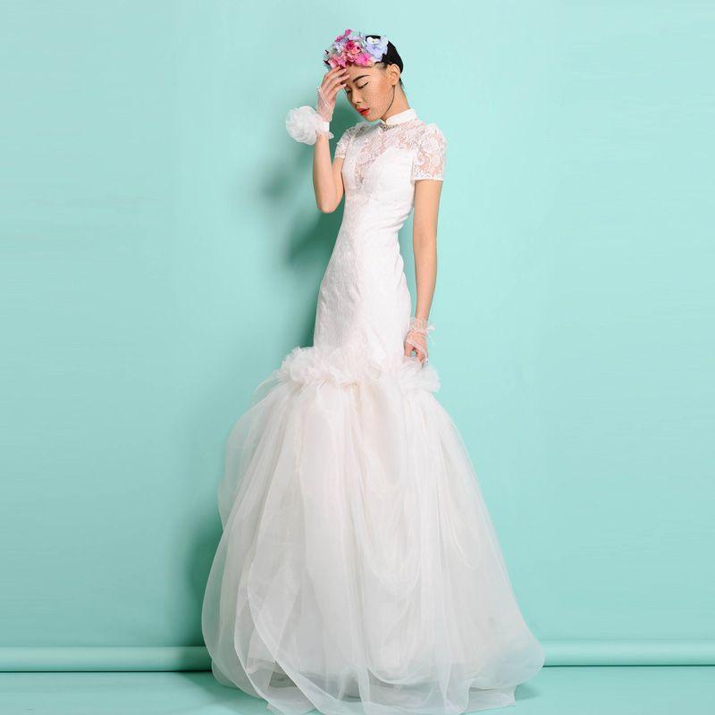 17+ Tremendous Beautiful Modest Wedding Dresses Ideas