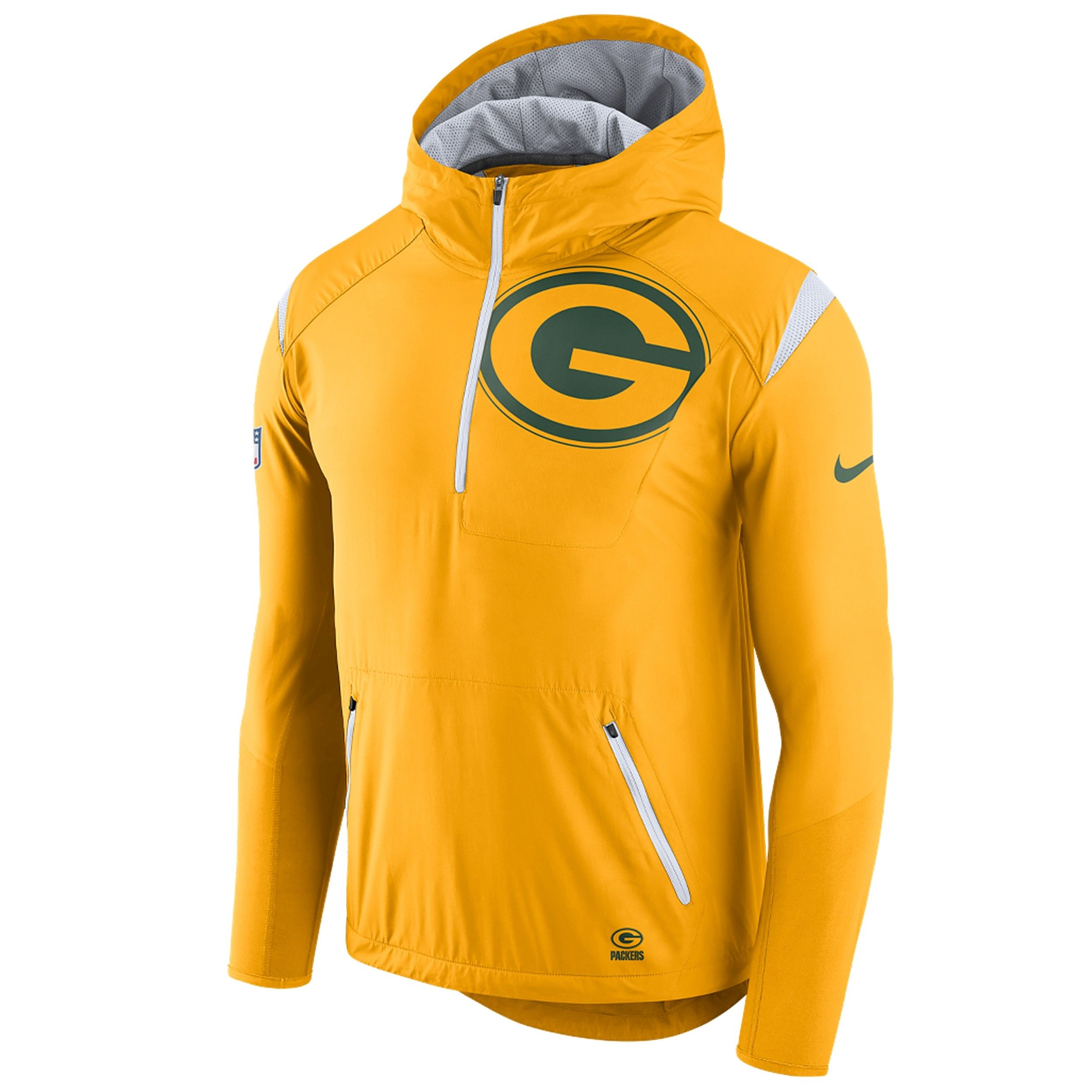 huge discount 17ef0 75ed6 Nick_Green Bay Packers Light-Weight Fly Rush Jacket | Wish ...