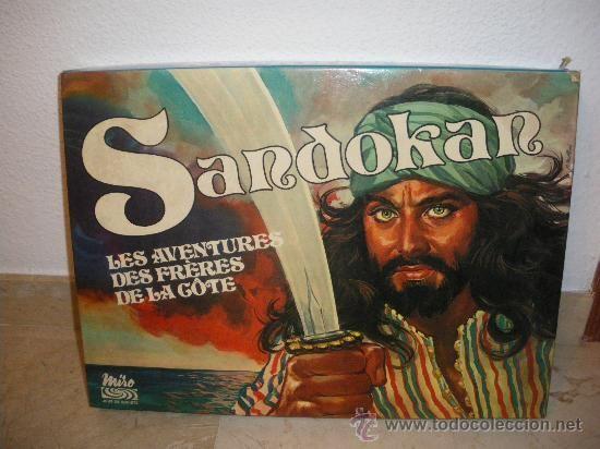 JUEGO DE MESA SANDOKAN, AÑOS 70 | Juegos de mesa, Juegos
