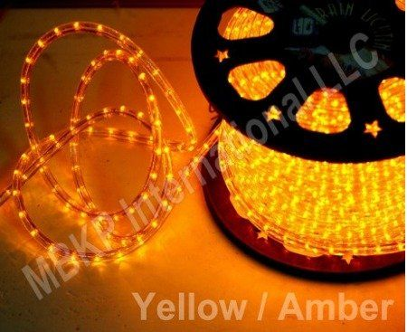 Yellow 12 Volts Dc Led Rope Lights Auto Lighting 15 Meters492 Feet Want Additional Info Click On Led Rope Lights Rope Lights Flameless Candles With Timer