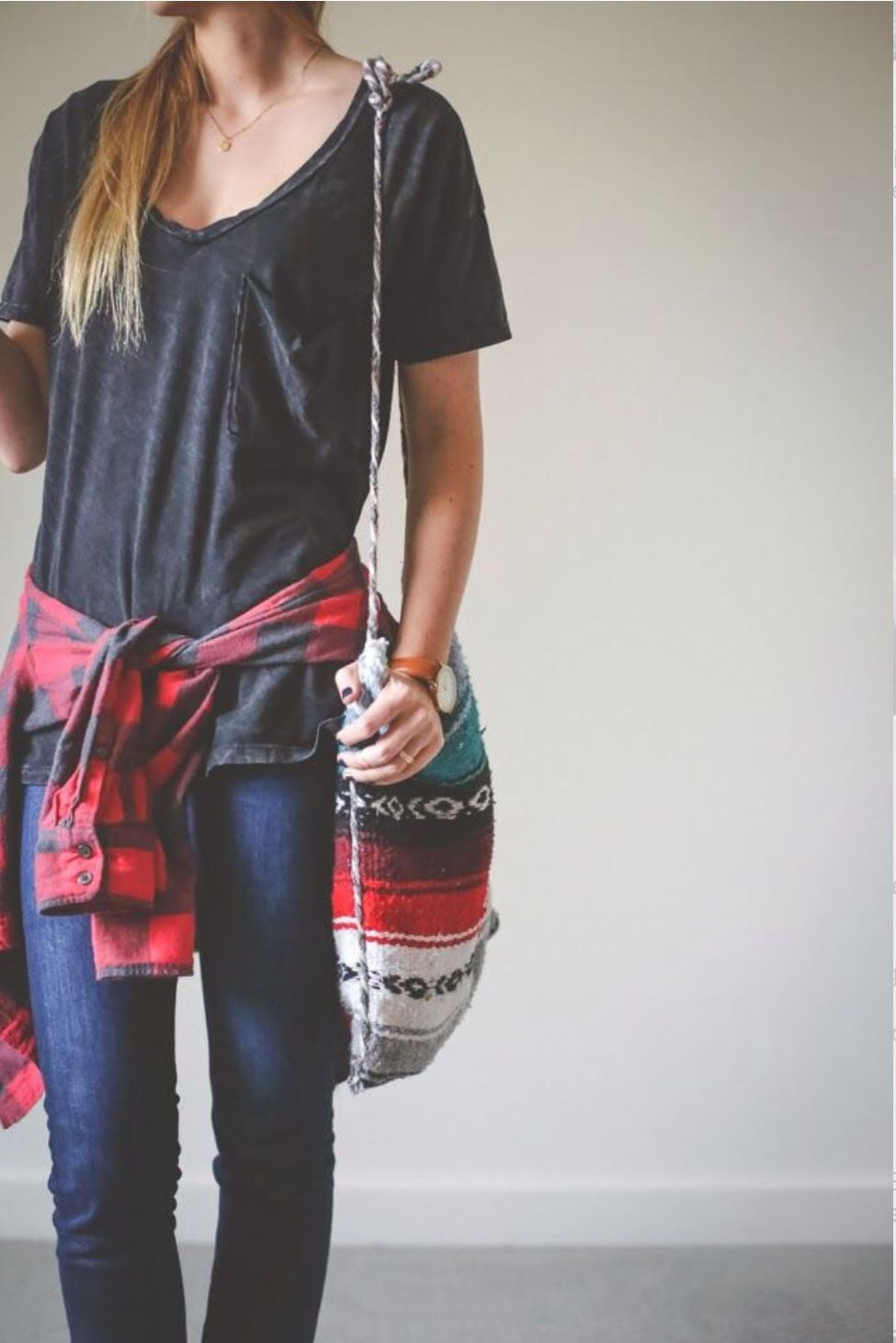 Flannel shirt bag  Casual outfit  Dream outfits  Pinterest  Clothes Fall winter and