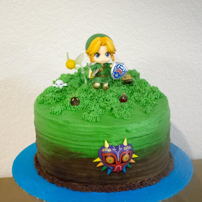 Photo of Legend of Zelda birthday cake