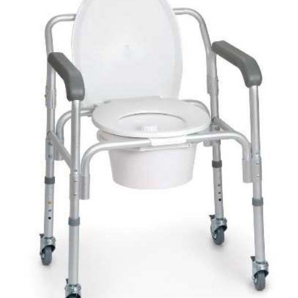 Silla multiusos 4 funciones asiento de inodoro apoyo - Duchas para mayores ...