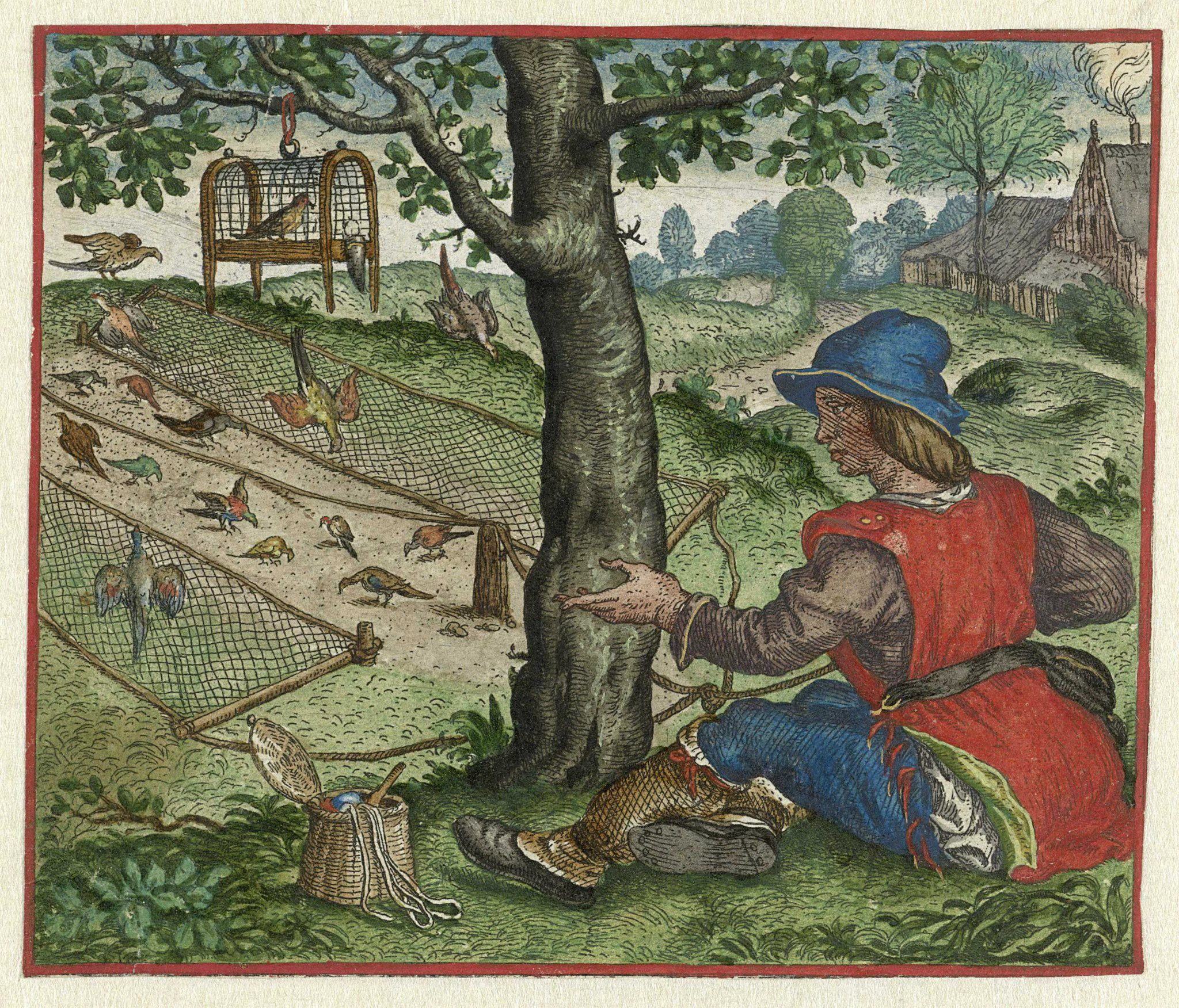Fable Of The Fowler Dated Image Courtesy Of Rijksmuseum Public Domain
