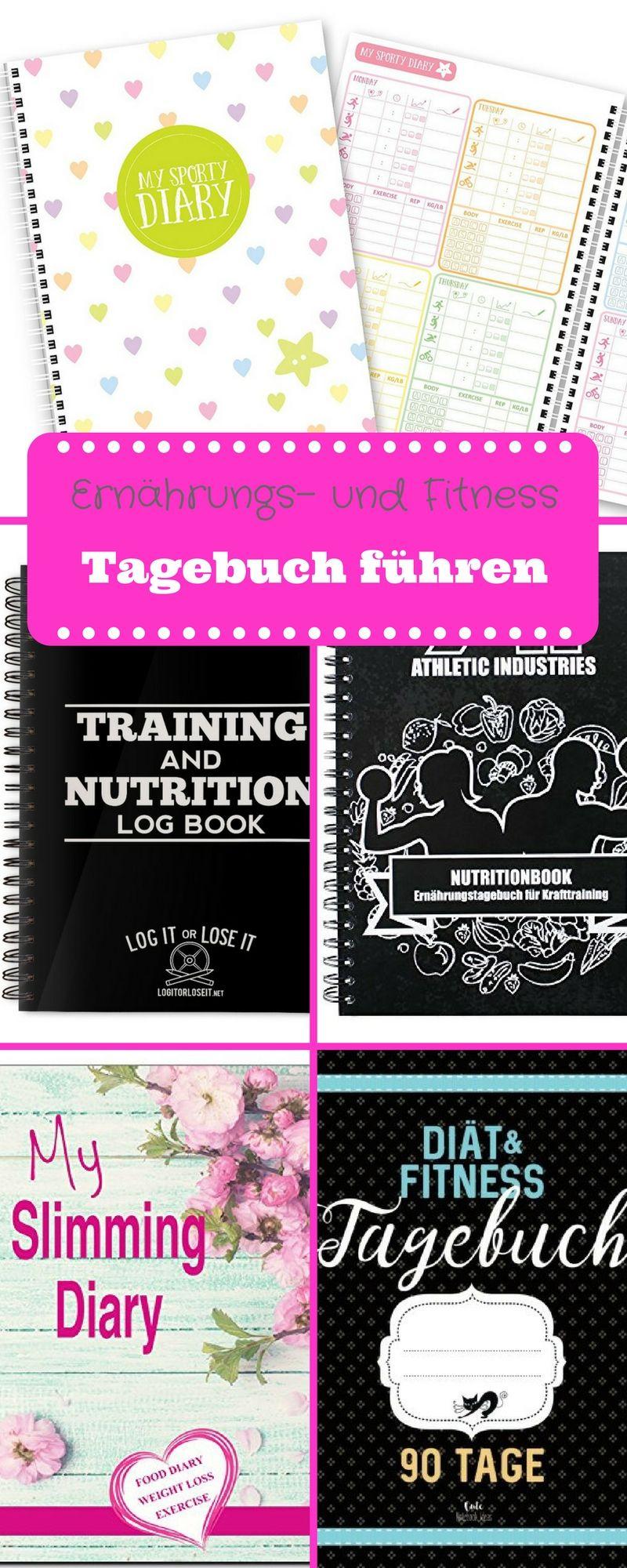 Ernährungs- und Fitness Tagebuch führen | Motivation and Weight loss