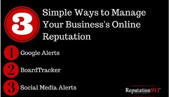 Three Simple Ways To Manage Your Business's Online Reputation