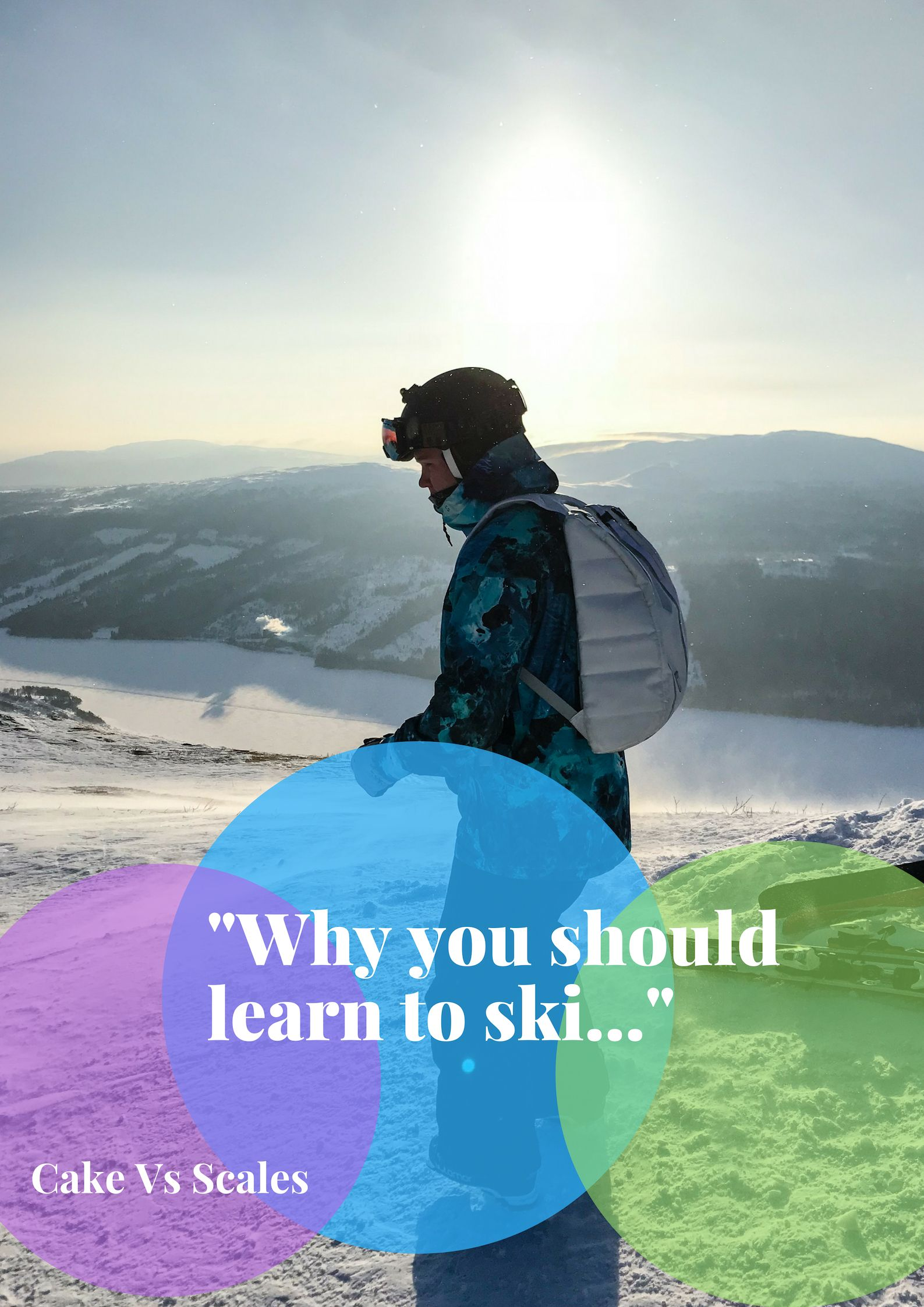 Why You Should Learn To Ski Regardless Of Your Age Or
