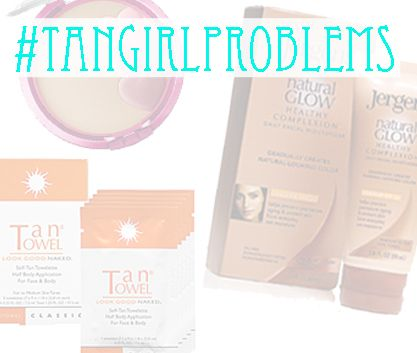 #tangirlproblems Is your face not as tan as your body?