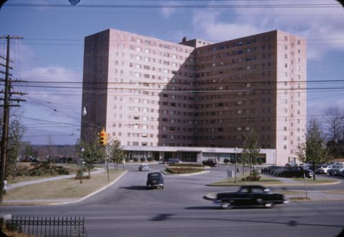 1954 View Of The Darlington Apartments On Peachtree Street Atlanta Ga Georgia History In 2019 My Mind