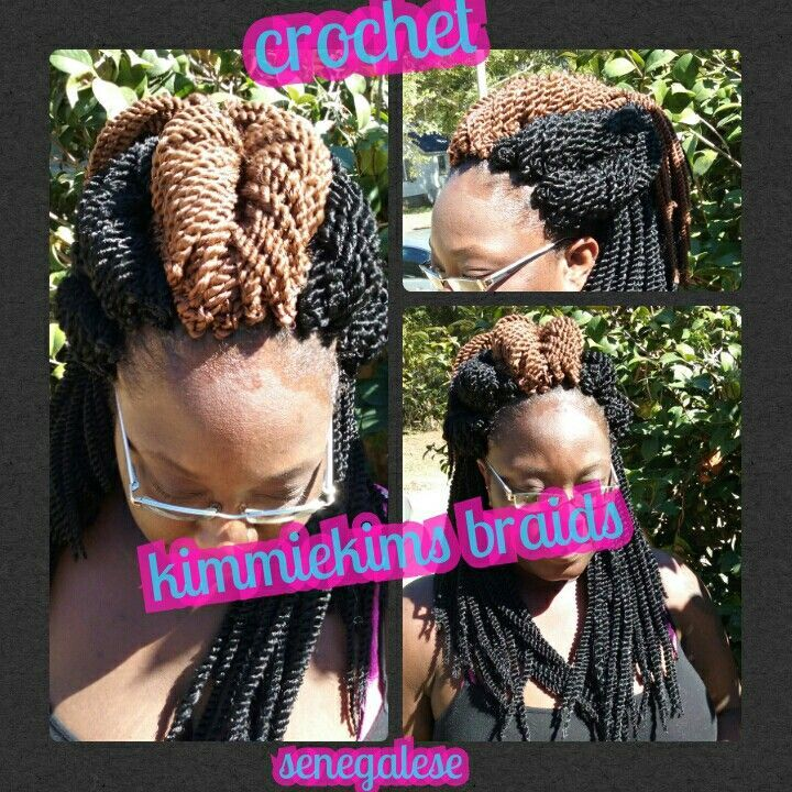 Crochet senegalese twist #crochetsenegalesetwist Crochet senegalese twist #crochetsenegalesetwist