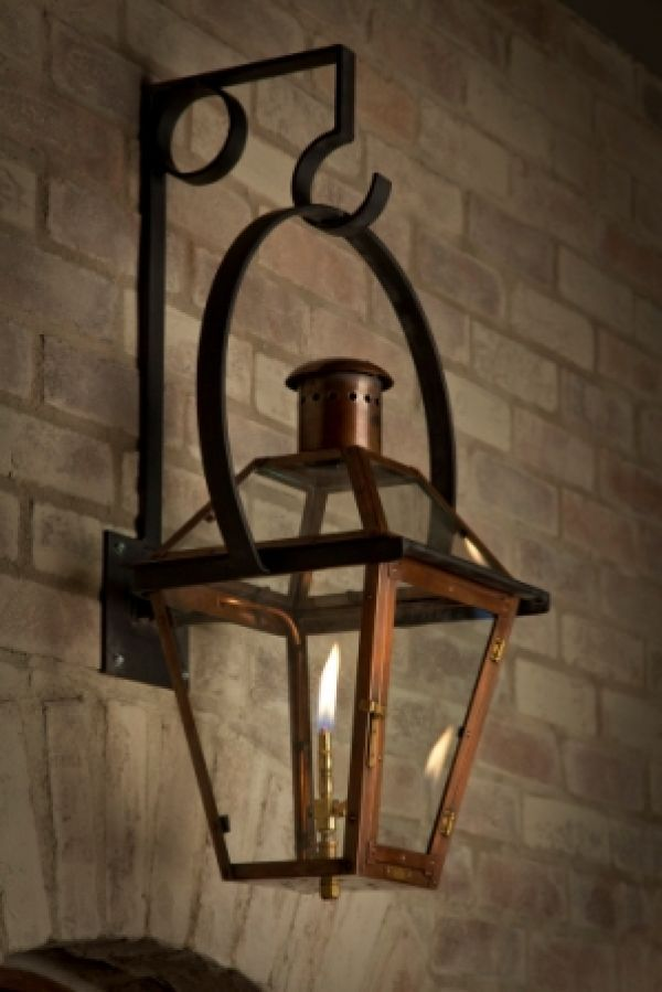 French quarter on yoke hanger product gallery bevolo gas electric lighting