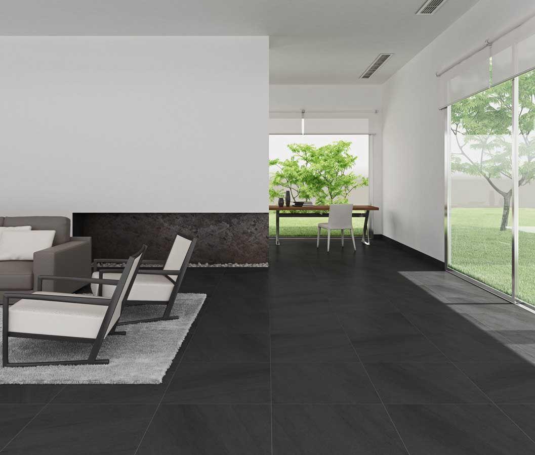 Vloertegels 60x60 antraciet google zoeken tegels woonkamer pinterest vloertegels zoeken - Porselein vloeren ...