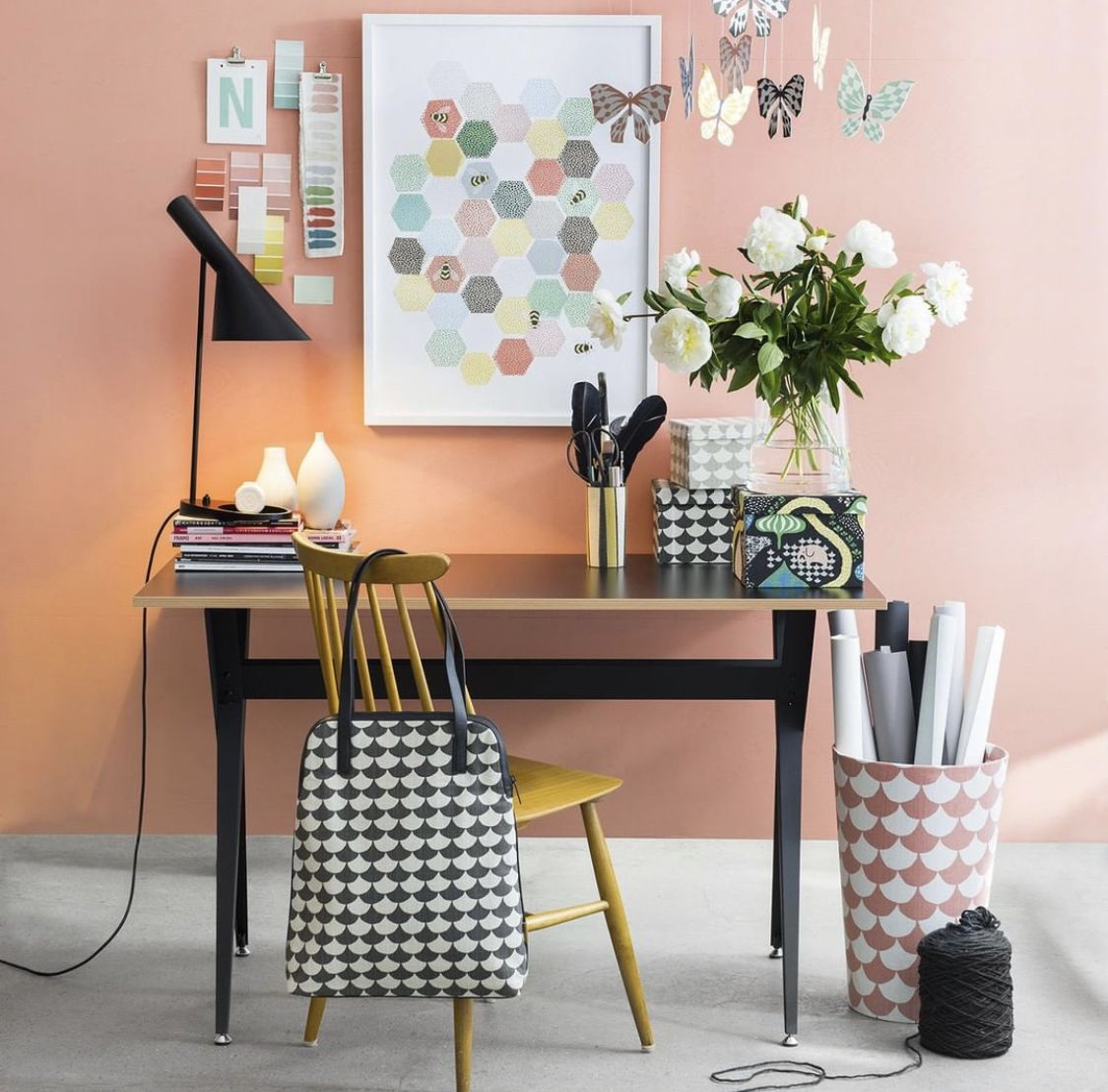 pin by versicapeter on home decor home office decor on desk color ideas id=29178