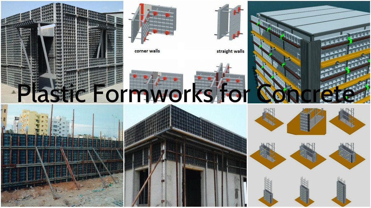 The Advantages of the Plastic Formworks for Concrete