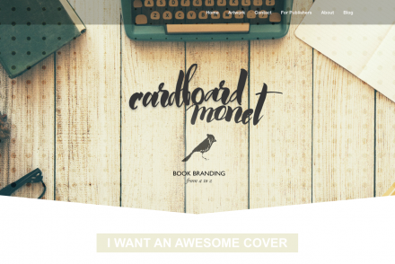Win a FULL author / book branding, including cover art, typesetting, website AND MORE!