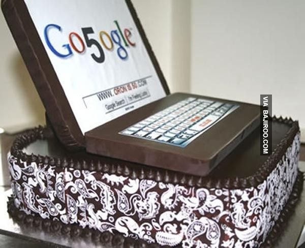 21 Designs Of Amazing Laptop Themed Cakes Bajiroo Com
