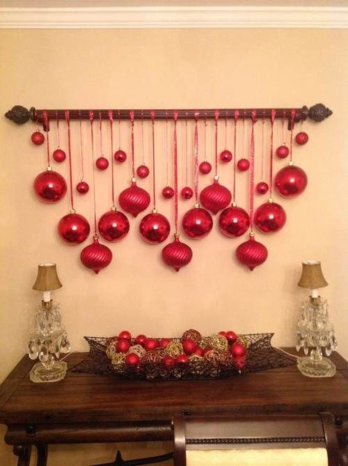 54 Enfeites de Natal Fáceis de Fazer e Baratos para Decorar! – Decoração de Casa #christmasdecorations
