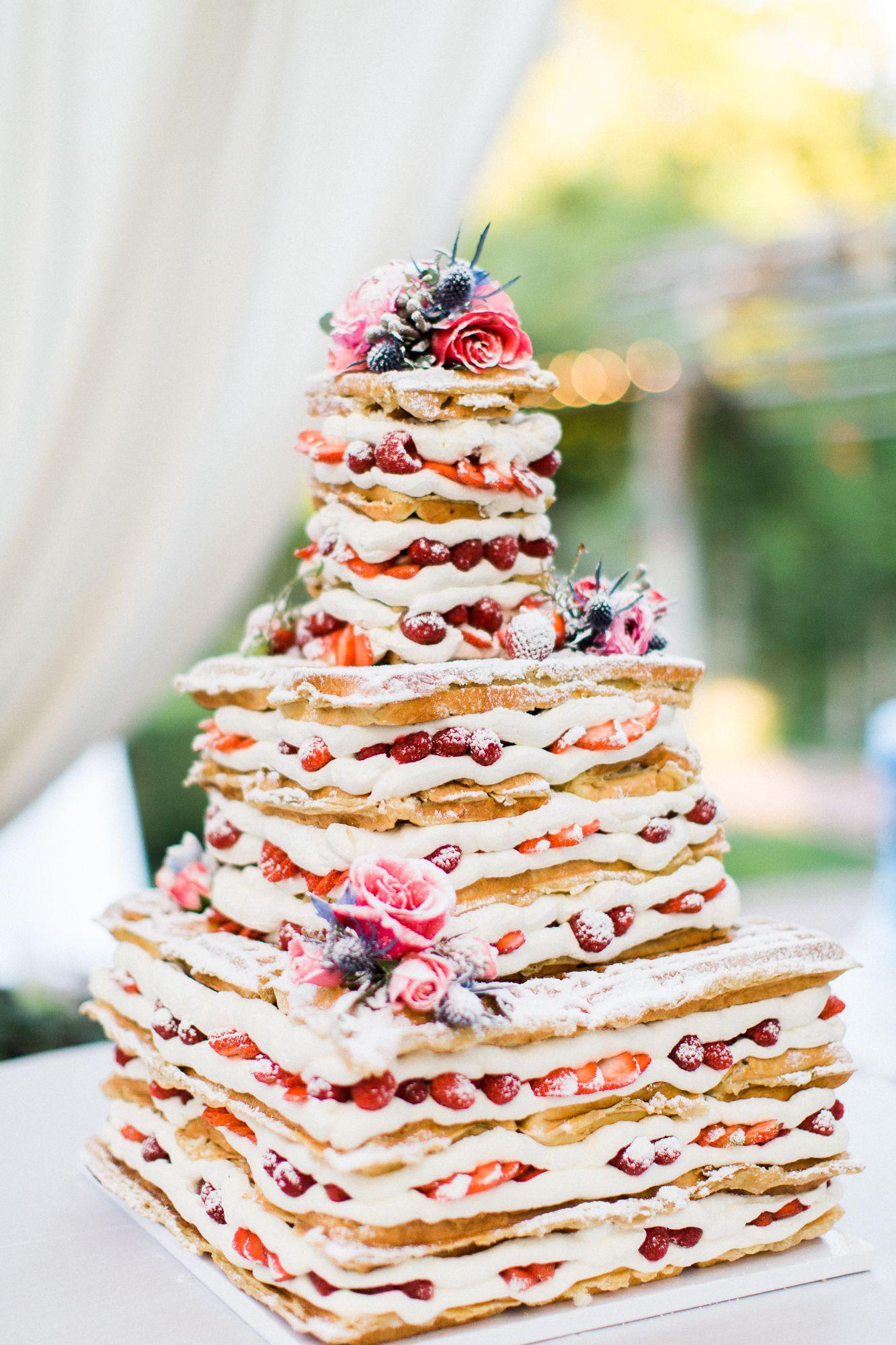 Waffle Wedding Cake Jadiejophotography Waffleluv Wedding