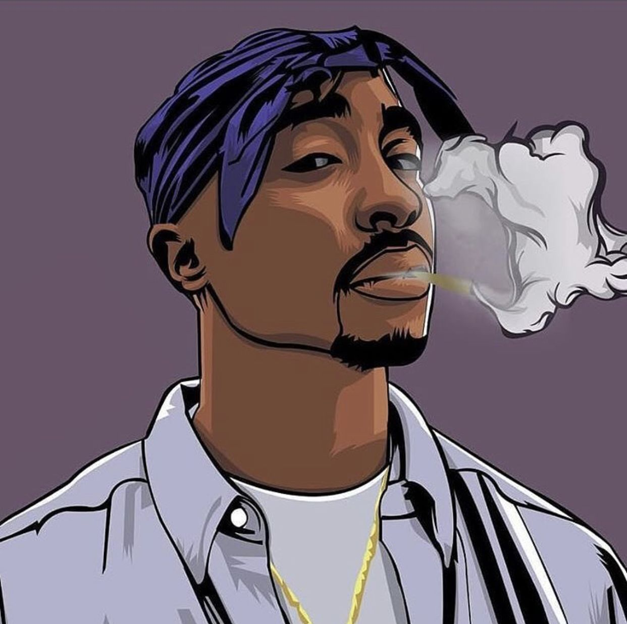 Pin by Quiona Ward on PACbaby Rapper art, Tupac art