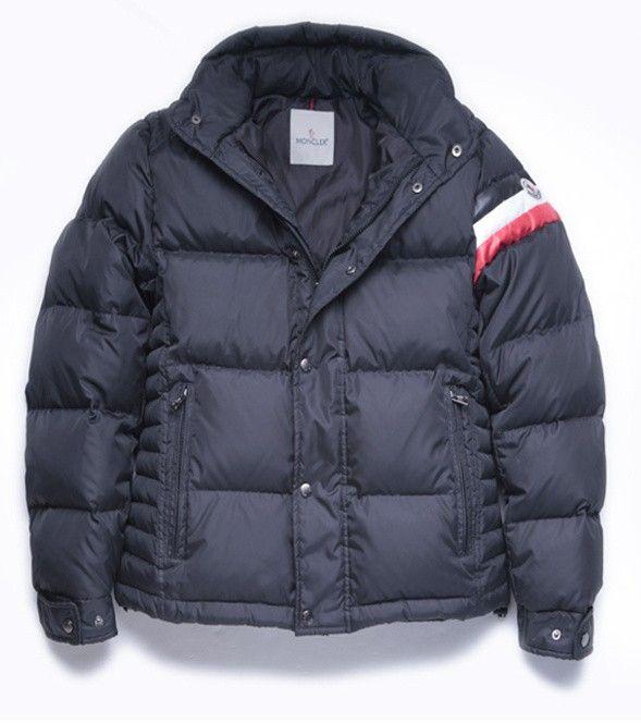 Moncler · Mens Moncler Chamonix Down Jacket in Black ...
