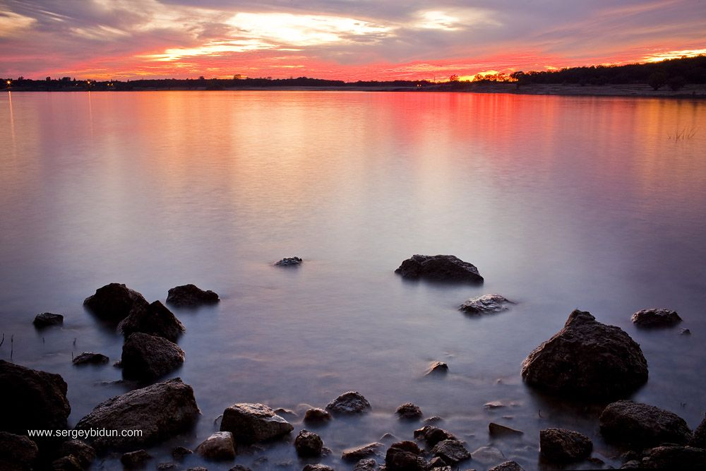 We Are Going To See This Every Day! Folsom Lake Sunset