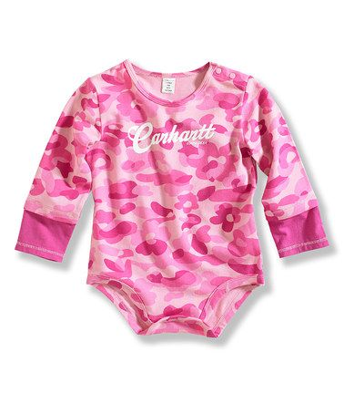 cd83ba7b6 Pink camo Carhartt onesie | All for my Babygirl! ♥ | Boy outfits ...
