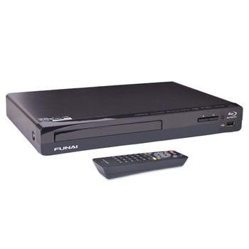 Funai Nb500fx4 1080p Blu Ray Disc Upscaling Dvd Player W Hdmi Usb Port Black Blu Ray Player Blu Ray Bose Soundlink Mini