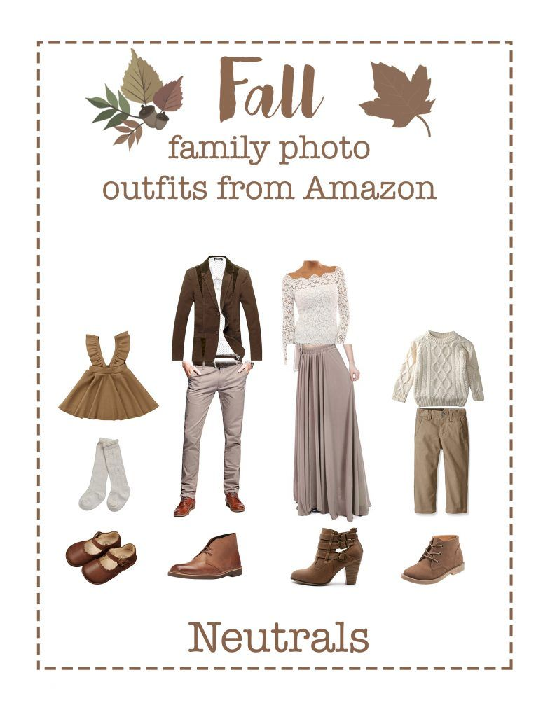Fall family picture outfits from Amazon #familyphotooutfits