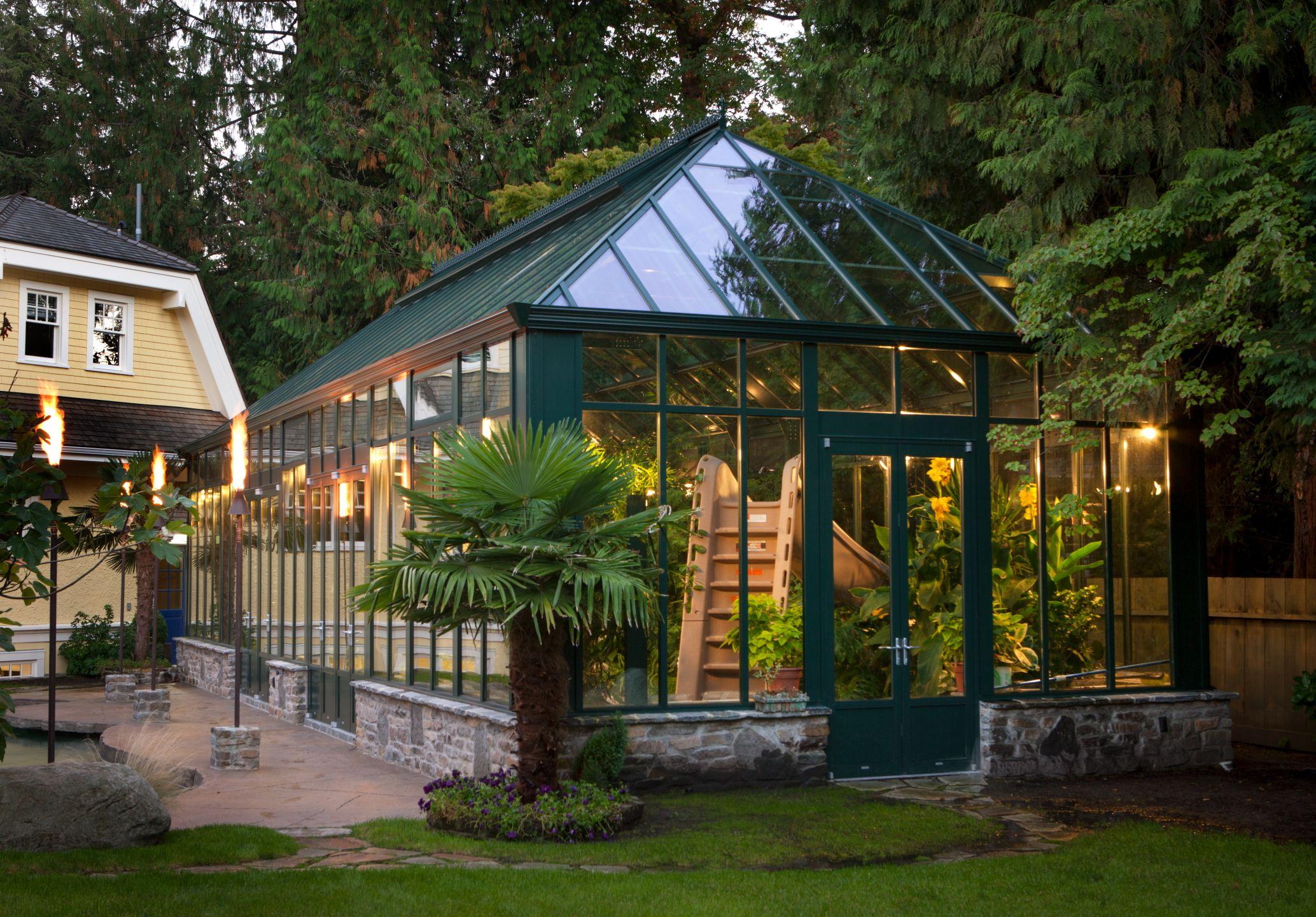 backyard greenhouse as found on google solariums and rh pinterest com