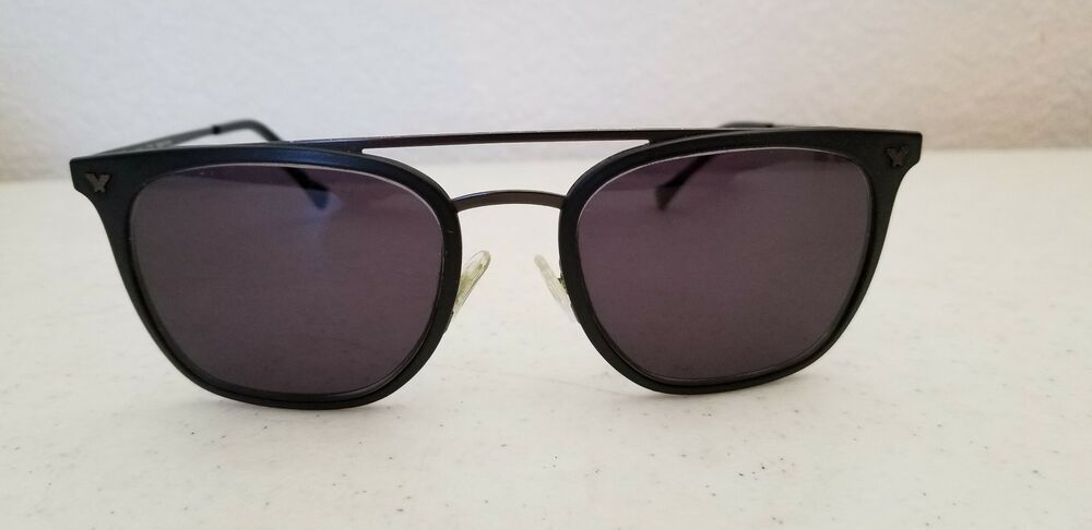 c8aef05293f  15.95 Used Police  3 Impact 1 Sunglasses SPL152 Charcoal Frame Frame Only   Police  Designer